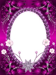 Beautiful Pink Transparent PNG Photo Frame.