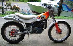 Fantic 305 Trials 1989 #motorbikes #motorcycles #motocicletas