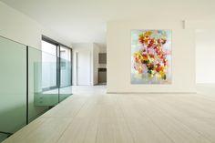 Acryl Gemälde 'Gefühlsexplosion' 90x120cm
