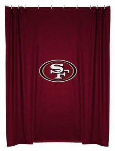 1000 images about san francisco 49ers on pinterest for 49ers bathroom decor