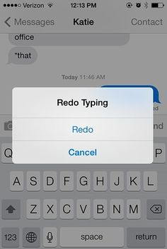 15 Things You Didn't Know Your iPhone Could Do. Shake iPhone to redo texts