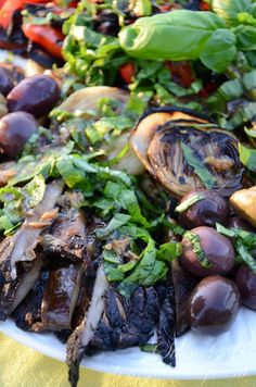 Grilled Vegetables with Balsamic Dressing