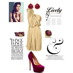 Burgundy Love, created by cassiecclayton on Polyvore