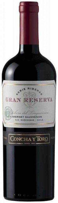 Concha Y Toro Serie Riberas Gran Reserva Cabernet Sauvignon Marchigue