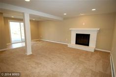 Large rec room with new carpeting, fresh paint and recessed lighting. COMPLETELY remodeled 3 bed/2.5 Bath Single Family Home in Woodbridge, VA  $289,990  Looking to Sell, Buyer or invest?  Info@AJTeamRealty.com or SellMyHome.NOVA
