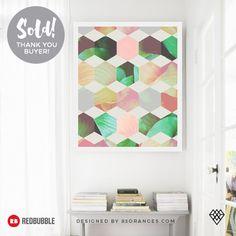 'Epsilon' Art Print  Sold! #redbubble #decor #home #buyart