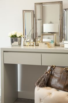 Bespoke dressing table -Designed by JHR Interiors