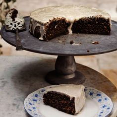 Root Beer Cake from Andrew Carmellini of NYC's Locanda Verde and The Dutch