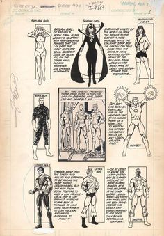 Original Comic Art titled Best of DC Blue Ribbon Digest LOSH pg located in Richard's Comic Panel Pages - Misc Titles Comic Art Gallery Comic Books Art, Comic Art, Book Art, Dc Comics, Cool Artwork, Amazing Artwork, Superhero Coloring Pages, Legion Of Superheroes, George Perez