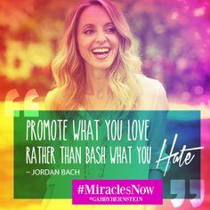 #MiraclesNow