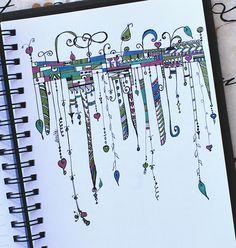 Art Journal - Zenspirations Dangle Adornments
