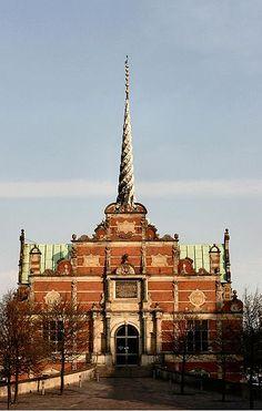 Indgang til børsen - København