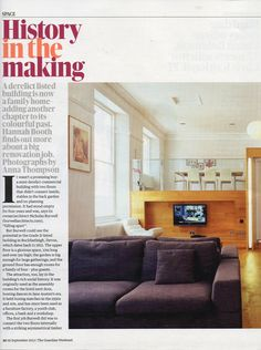 dwell in the Guardian Weekend Magazine