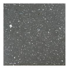 Achim Sterling Black Speckled Granite Self Adhesive Vinyl Floor Tile Set, Vinyl Flooring, Adhesive Vinyl, Easy Diy, Simple Diy, Cleaning Wipes, Tile Floor, Self, Color, Black