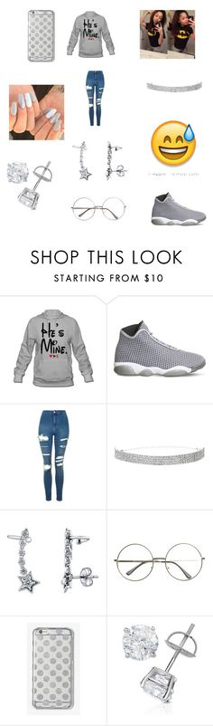 """""""BORED ASF"""" by babygirl77-1 ❤ liked on Polyvore featuring NIKE, Topshop, BERRICLE and MICHAEL Michael Kors"""