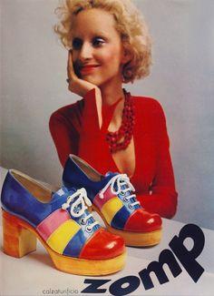 Simple and Creative Ideas: Adidas Shoes Stella Mccartney michael kors shoes Shoes Runway louboutin shoes men.Balenciaga Shoes With Jeans. 70s Shoes, Mode Shoes, 70s Fashion, Vintage Fashion, Fashion Shoes, High Fashion, Adidas Stella Mccartney, Jimmy Choo, Mode Pop