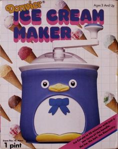 Donvier Chilly Penguin 1 Pint Ice Cream Maker Pink Trim >>> Amazon most trusted e-retailer  #IceCreamMaker