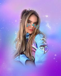 Cute Wallpaper Backgrounds, Disney Wallpaper, Wallpapers, Playlists, Rose Gold Aesthetic, Puerto Rican Singers, Photo Star, G Hair, Becky G