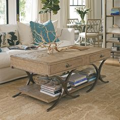 Coastal Living™ by Stanley Furniture Coastal Living Resort Windward Dune Coffee Table