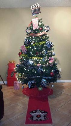 Hollywood Theme Christmas Tree or Movie Theme Christmas Tree