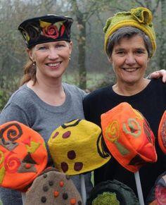 Katherine et Ankie: chapeau les filles!