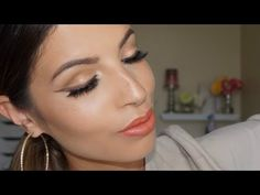 Champagne and Neutral Eyes Makeup Tutorial Neutral Eye Makeup, Neutral Eyes, Make Up Tricks, How To Make, Makeup For Blondes, Benefit Cosmetics, Champagne, Youtube, Makeup Dupes