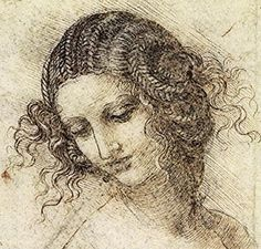 JB and RS (Section 3)Renowned Renaissance artist, Leonardo da Vinci, frequently used the hatching and cross-hatching technique. This image shows Leda. The hatching and cross-hatchings are visibile in the background, as well as on her face, especially to show the shadow on the cheek and on the neck.