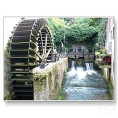 Flour mill in Rome powered by 16 water wheels