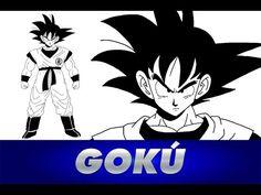 Cómo dibujar a GOKU de Dragon Ball Z   How to draw GOKU DBZ #anime #manga #goku #dragonball #dbz #dragonballsuper #draw #drawing #dibujo #dibujar