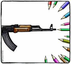 Ruben L. Oppenheimer - Paesi Bassi -  Trovato su:http://www.liberation.fr/societe/2015/01/07/l-hommage-des-dessinateurs-a-charlie_1175567 §