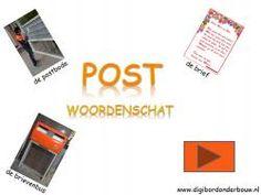 Woordenschat de post