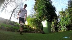 GoPro Kieran Brown Football Bin Trick Shots