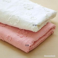 High Quality White/Pink Embroidered Cotton Lace Fabric Floral Embroidery Lace Cloth for Patchwork Sew Dress Skirt Doll's New Fashion Cotton Dyed Pink Embroidery Lace Cloth Flower Doll Clothes Stereo Skirt Fabrics Material DIY Baby Cl Embroidery Fabric, Floral Embroidery, Floral Fabric, Lace Fabric, Floral Motif, Shiny Fabric, Floral Wall, Cotton Lace, Cotton Fabric