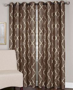 brown window curtains panel elrene window treatments medalia collection curtains amp drapes for the home 18 best blue and brown bedroom ideas images on pinterest