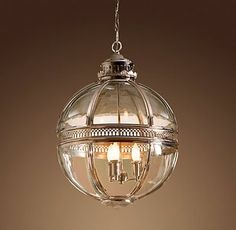 Creative Lighting: Round Pendant Hanging Fixtures - StyleBeat ...