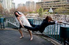 13 Hilarious Wedding Pic Ideas You Should Steal via Brit + Co