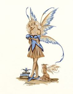 Amy Brown Apprentice Fairy Print Limited Edition