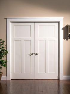 Craftsman look in interior doors - traditional - interior doors - Lynden Door