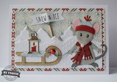 Kaarten & zo: 52 weeks to Christmas. Company Christmas Cards, Christmas Cards 2018, Xmas Cards, Christmas Wood Crafts, Handmade Christmas, Marianne Design Cards, Bee Cards, Embossed Cards, Winter Cards