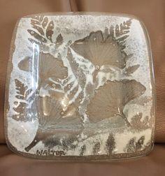 3d2db5676150 Studio Glass Edwin D. WalterKiln-formed glass dish