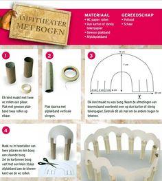 ROMEINS KNUTSELEN - amfitheater met bogen