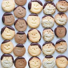 cookie faces!