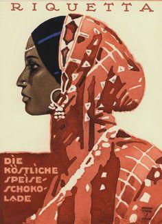 Riquetta         Retro Posters.Ludwig Hohlwein.