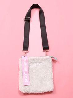 WC/GOODBYEボアショルダーバッグ/WC(ダブルシー)のバッグ通販 | GOCART ONLINE SHOP [ゴーカート オンラインショップ] Easy Bag, Simple Bags, Fashion Styles