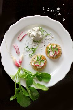 radish toasts from @Joy Jangles of Joylicious