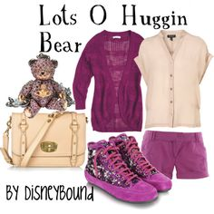 Lots O Huggin Bear, created by lalakay on Polyvore