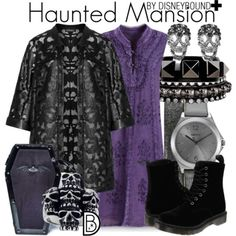 Disney Bound Haunted Mansion I actually have everything for this.
