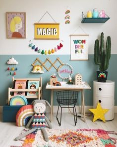Help design the best playroom to keep the scattered toys in place. Take inspirations from the gender-neutral playroom ideas given below. Playroom Design, Kids Room Design, Playroom Ideas, Playroom Seating, Baby Bedroom, Girls Bedroom, Nursery Decor, Room Decor, Girl Nursery