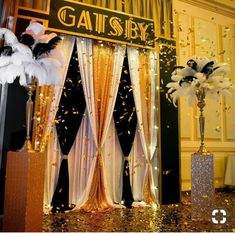 Important link provided quinceanera party decorations Great Gatsby Party Decorations, Great Gatsby Themed Party, Prom Decor, Great Gatsby Wedding, 1920s Wedding, 1920s Party Themes, Party Wedding, Themes For Parties, Trendy Wedding
