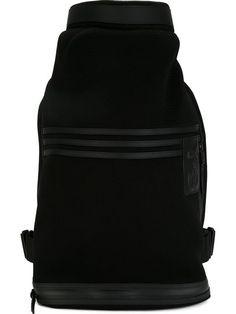Y-3 Logo Backpack. #y-3 #bags #polyester #backpacks